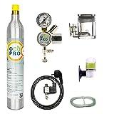CO2-Anlage für Aquarien mit 425g CO2-Zylinder Soda | OCOPRO DLX-350 Plus