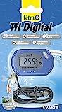 Tetra TH Digital Aquarium Thermometer - für alle Aquariengrößen, einfache und sichere Messung der Wassertemperatur im Aquarium