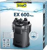 Tetra Aquarium Außenfilter EX 600 Plus - leistungsstarker Filter für Aquarien bis 120 L, schafft kristallklares fischgerechtes Wasser