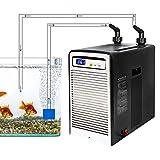 Aquarium Wasserkühler, Aquarium Chiller, Intelligente Konstanttemperatur, Tiefseedämpfer, Meeresfrüchte-Zuchtausrüstung für Wasserpflanzen/Quallen/Korallen/Kristallgarnelen (160/250/300 / 500L)