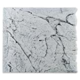 Back to Nature White Limestone 50 Slimline Rückwand H: 45 cm Größe Modul 50B (B50xH45cm)