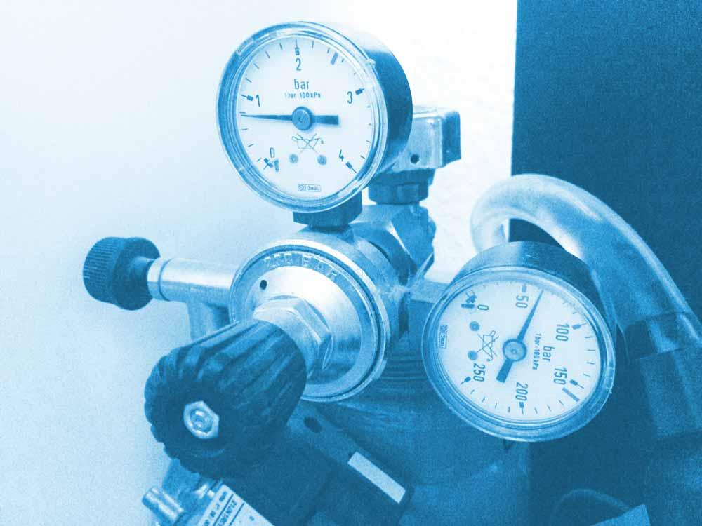 Druckminderer für CO2 Anlage