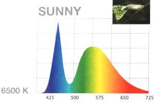 Farbspektrum Aquael Leddy 2 Sunny