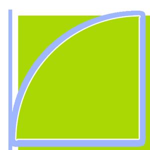 Eckaquarium-Panorama-Grundform