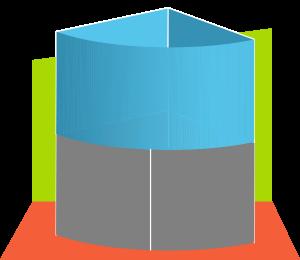 Eckaquarium Panorama