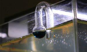 CO2-Dauertest Reagenz auffrischen