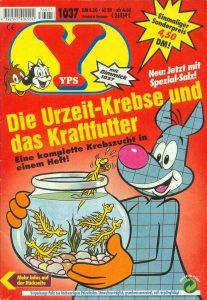 Yps-Heft mit Artemia/Urzeitkrebse