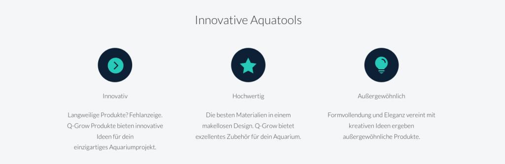 Q-Grow: innovative und hochwertige Produkte