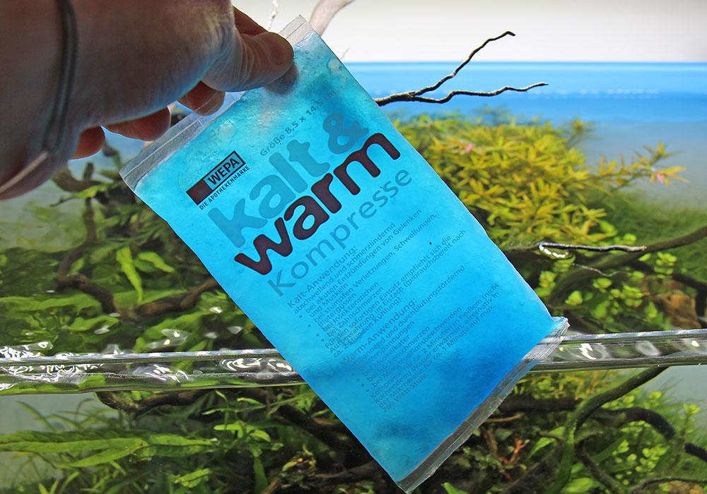 Kühlakku oder Kühlpad zum Aquariumtemperatur senken
