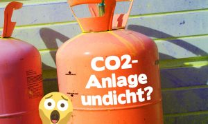CO2-Anlage undicht