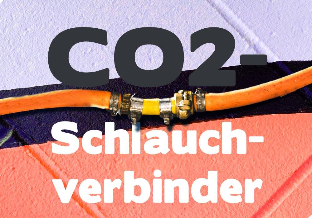 CO2-Schlauchverbinder