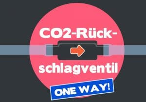 CO2-Rücklaufventil