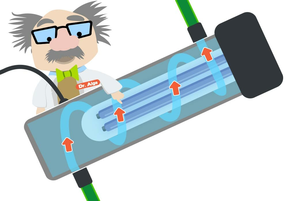 Funktionsweise UV-C-Klärer