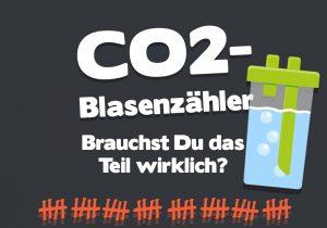 CO2-Blasenzähler
