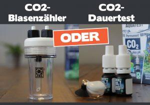 CO2-Blasenzähler oder CO2-Dauertest